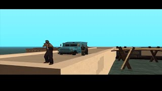 GTA san andreas 2 -  Mission # 5 - Aztecas and rifas (Eng version)