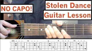 "Milky Chance - ""Stolen Dance"" Guitar Tutorial Easy Lesson"