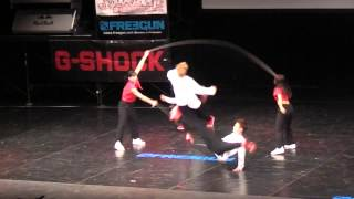 Double Dutch Contest Japan Final 2015 日本体育大学 乱縄 オープン部...