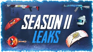 SEASON 11 LEAKS + ANGRY BIRDS COLLAB | PUBG MOBILE - BlueFox