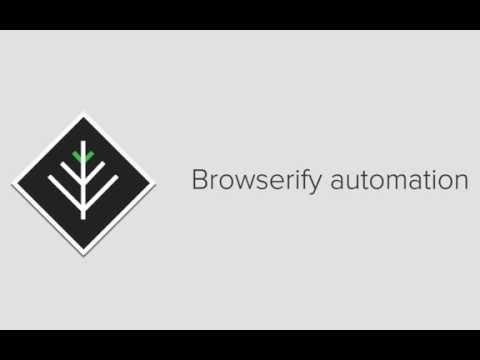browserify: Automating browserify compilation