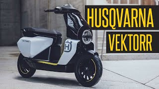 2022 Husqvarna Vektorr Electric Scooter // First Impression #Shorts