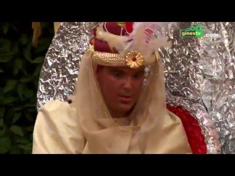 El Heraldo Real recibió las llaves de Gines como preludio de la Cabalgata de Reyes Magos