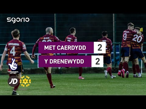 Cardiff Metropolitan Newtown Goals And Highlights