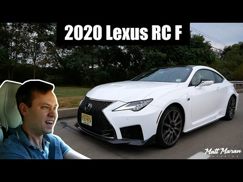 Review: 2020 Lexus RC F