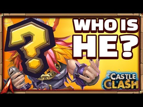 NEW SKIN SNEAK PEEK! WHO IS IT? Castle Clash