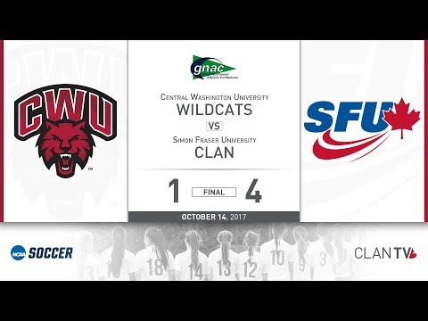 SFU Clan Women's Soccer vs. CWU - October 14, 2017