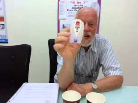 Identa Touch & Know Drug Test Demonstration with Yaacov Shoham