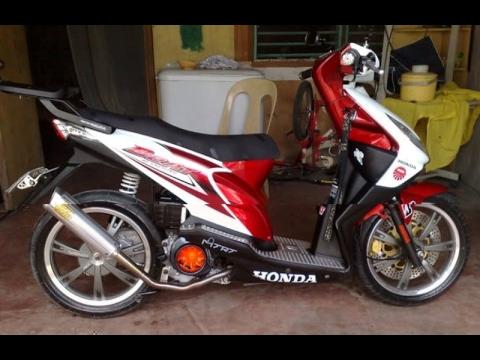 Cah Gagah Video Modifikasi Motor Honda Beat Velg Racing Simple