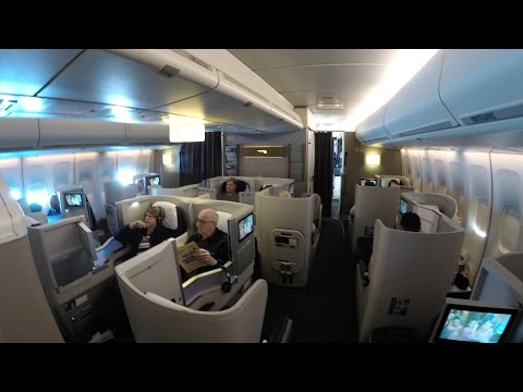British Airways 747-400 Club World San Diego to London