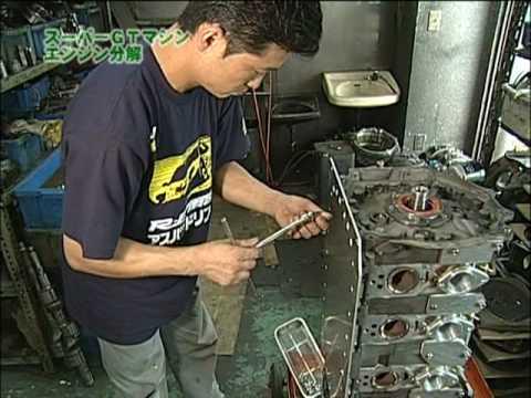 RE雨宮 GT300選手権専用「20B Peripheral Port Engine」 完全バラし!