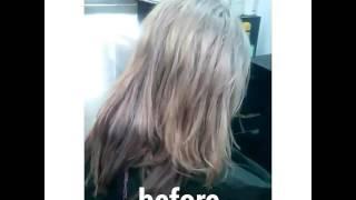 SHARM studio, колорирование волос до и после