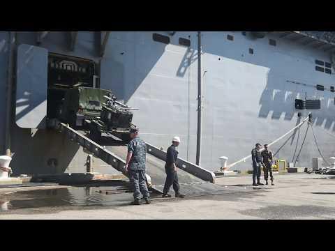 USS Iwo Jima Hurricane Irma Relief Onload