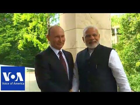 India's Modi arrives in Sochi for informal talks with Putin