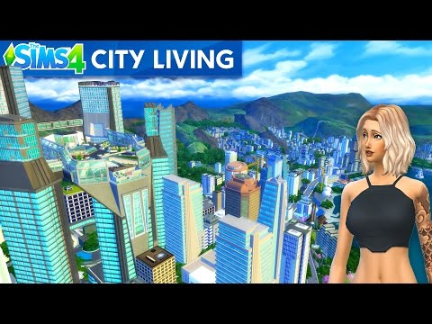 The Sims 4 - CITY LIFE!! New SIMS 4 City Living DLC Update! (Sims 4, Episode 17)