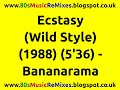 watch he video of Ecstasy (Wild Style) - Bananarama | 80s Club Mixes | 80s Club Music | 80s House Music | 80s House