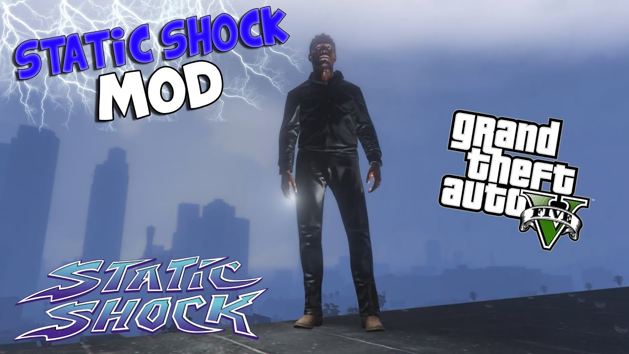 Electric Man – Electrocute Mod | GTA 5 Mods & Scripts