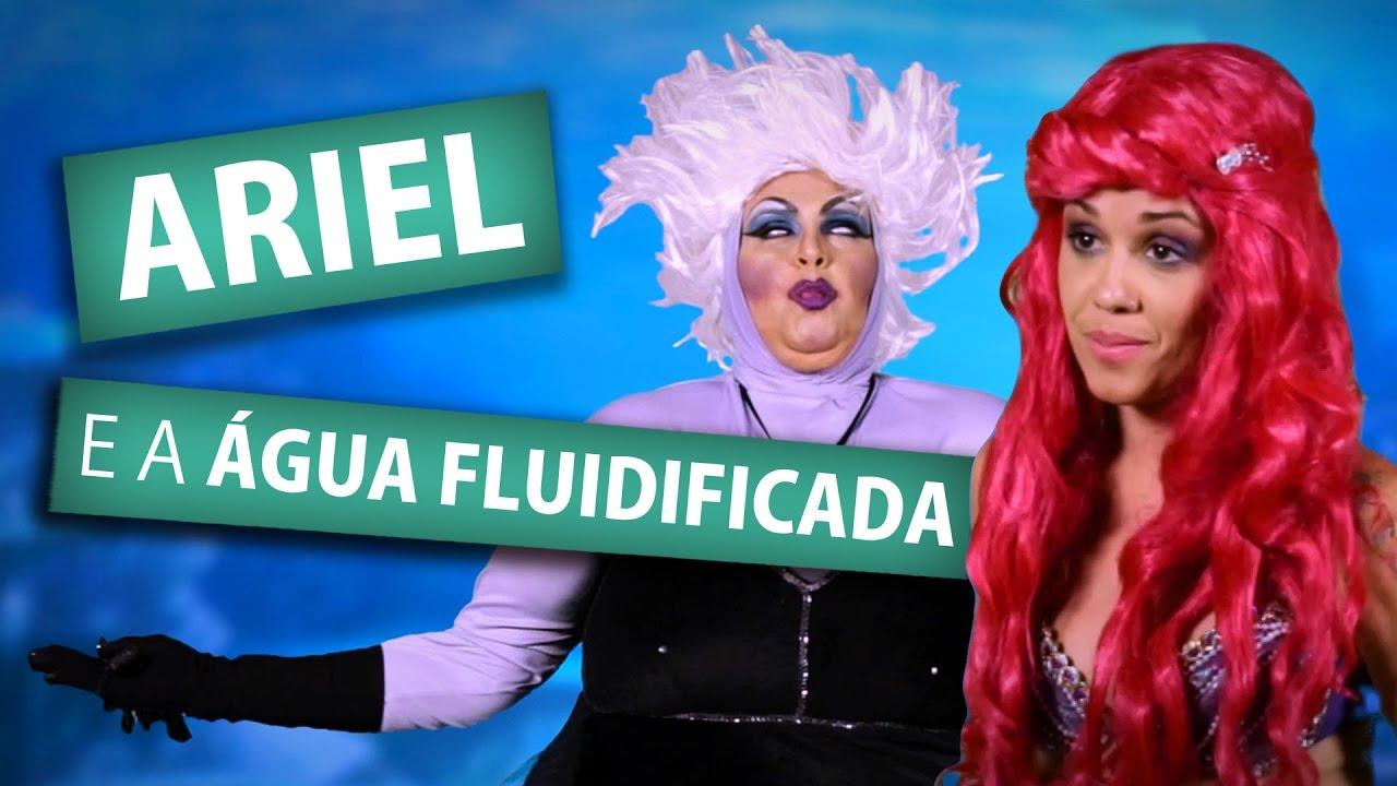 ARIEL E A ÁGUA FLUIDIFICADA