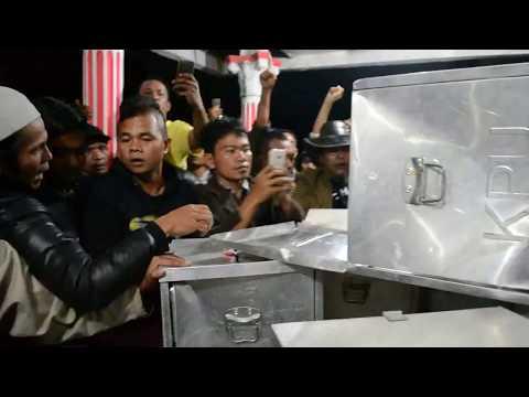 SADIS! Video Kotak Suara Kosong KECURANGAN PILKADA TAPUT 2018