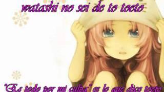 Toeto Luka megurine [sub español y lyrics]