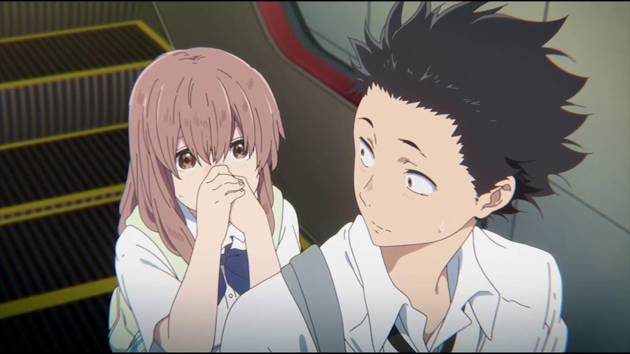 Anime Girl And Boy Kiss Wallpaper 【mad】koe No Katachi Koi Wo Shita No Wa 恋をしたのは Youtube