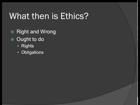 Introduction to Health Care Ethics