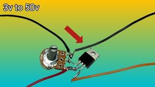 Mosfet Powerful Voltage Regulator IRFZ44 Mosfet