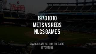 1973 10 10 NY Mets vs Reds NLCS Game 5 Ya Gotta Believe