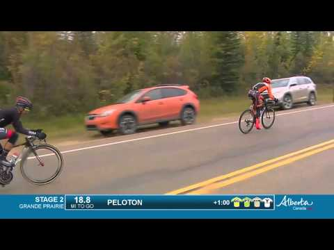 Tour of Alberta stage 2 race highlights