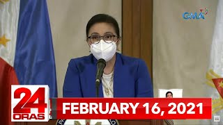 24 Oras Express: February 16, 2021 [HD]