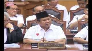 Prabowo Bicara di Mahkamah Konstitusi
