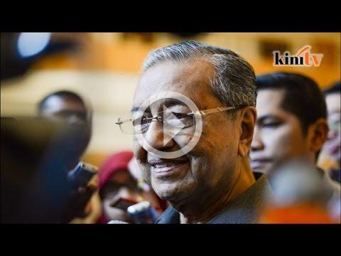 Orang kampung tak faham isu 1MDB, kata Mahathir