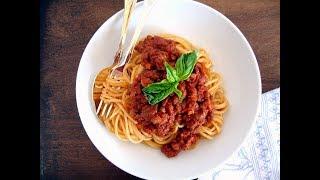 Итальянский соус Больньезе.Быстрый, вкусный и простой в приготовлении ужин.