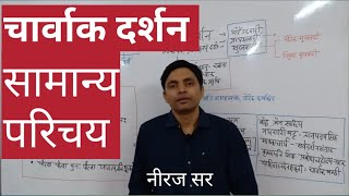 चार्वाक दर्शन एक सामान्य परिचय। Charvaka philosophy by Niraj Sir