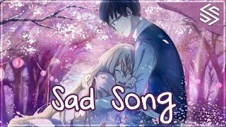 Nightcore - Sad Song (Switching Vocals) - (Lyrics)