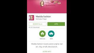 Madda.fashion App per Android (Ricostruzione,gel,smalti,cucina...ecc) Thumbnail
