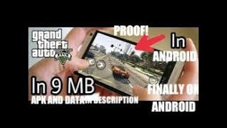 (6mb)How to download GTA 5 highly compressed in 6mb real in Android 💯% working