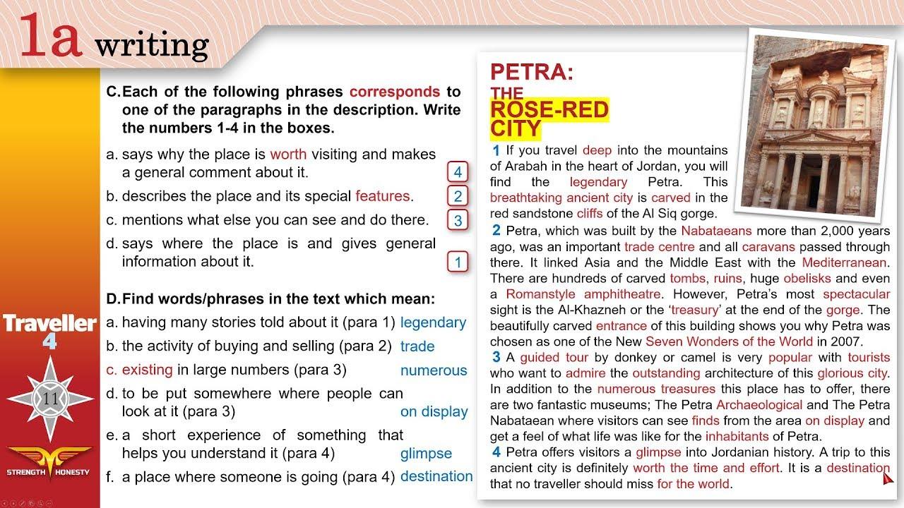 Definition of descriptive essay