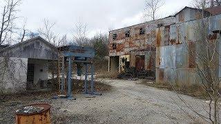 Crystal Mine Exploration: Massive Fluorspar Mill from 1929!