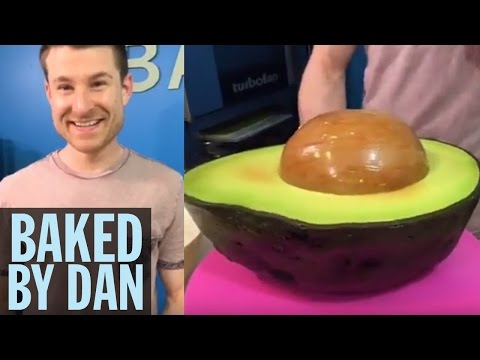 This Supersized Avocado Is Actually a Cake! | Food Network