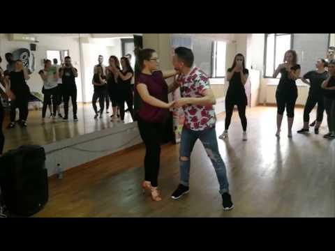 Alexander Rasero (Spain) And Daniela Stevanovic (Serbia) -  Los Angeles Salsa Partnerwork