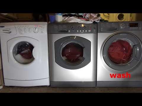 Wash Race : Hotpoint vs Hotpoint Vs Hotpoint silks wash