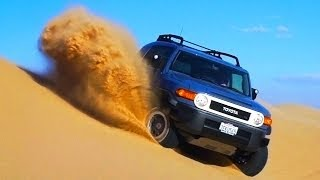 Wind, Sand & Fire: 2014 Toyota FJ Cruiser Takes A Last Desert Ride! - Epic Drives Ep. 27