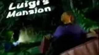 Luigis Mansion (GC) Werbung
