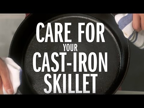 How to Clean a Cast-Iron Skillet   Food Network