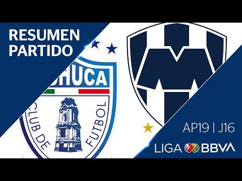 Resumen y Goles | Pachuca vs Monterrey | Jornada 16 - Apertura 2019 | Liga BBVA MX