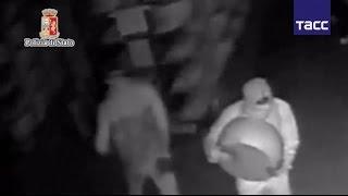 Ограбление по итальянски  преступники похитили пармезан