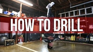 How To Breakdance | Head Spin Drill | Matt Action