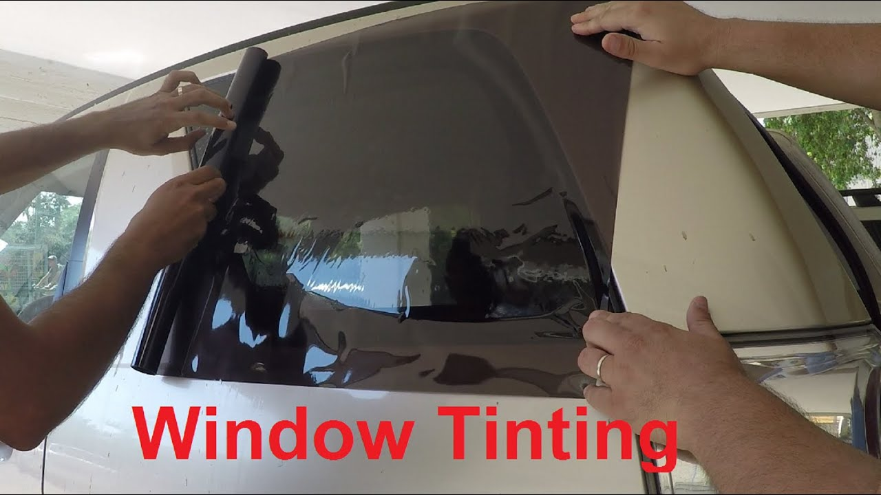 Window Tinting - DIY - YouTube