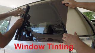 Window Tinting - DIY